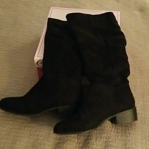 Candie's knee high boots